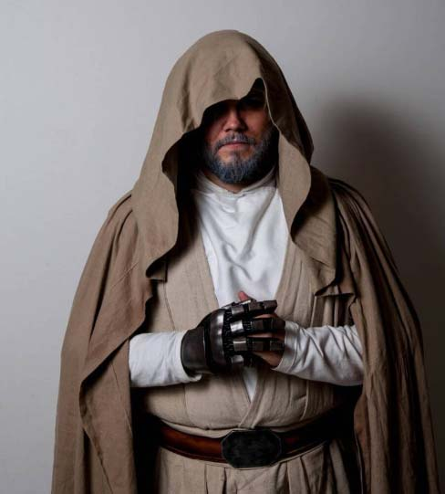 luke skywalker the last jedi cosplay