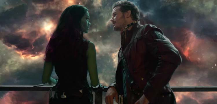 star lord and gamora cosplay