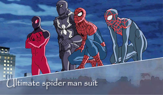 Ultimate spider man suit